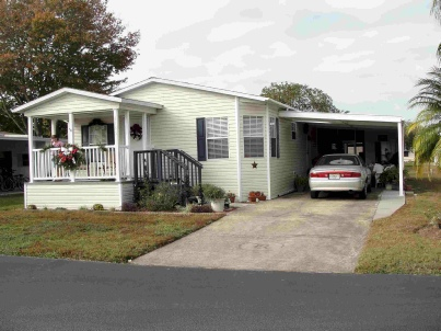 Mobile / Manufactured Home in CC Mobile Home Park - New Port Richey